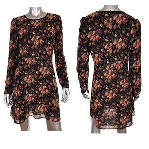Maison Scotch Budoir Floral Print Dress